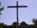 Cross at the German cemetery