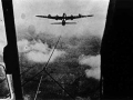 View from a glider cockpit September 17th 1944