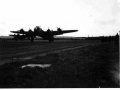 Horsas towed by Stirling MK 5 Bombers at Harwell September 1944