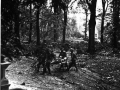 Wounded being carried away, Hartenstein Hotel, 24th September 1944