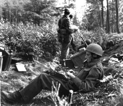 Journalist at the Battle of Arnhem, September 18, 1944