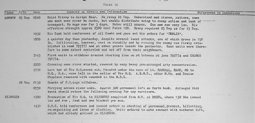 War Diary of H.Q., 1 Airborne Division